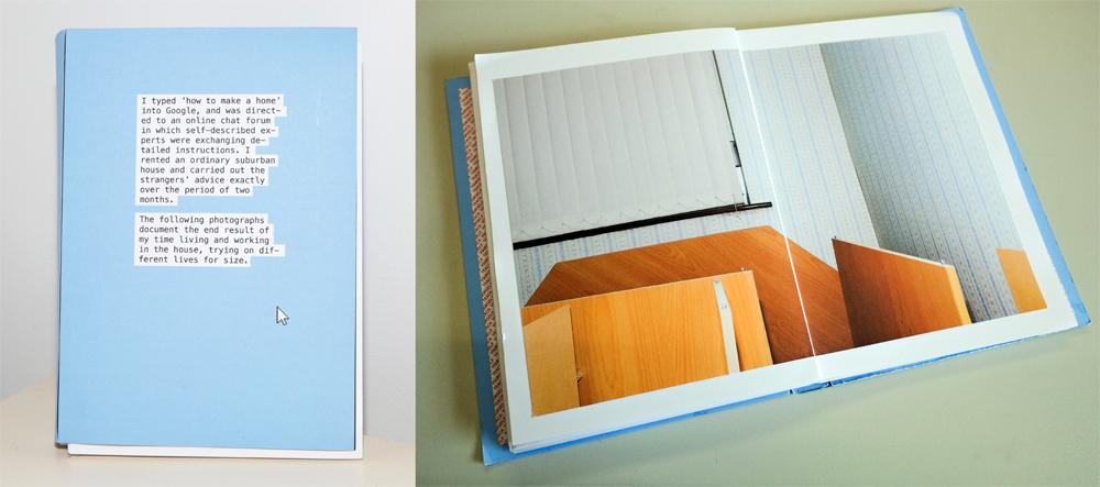 Jan McCullough, Home Instruction Manual, book dummy, courtesy PhotoIreland