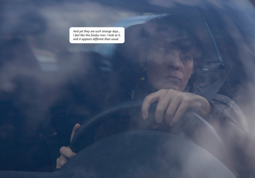 'Bianca by car', courtesy Fotoromanzo Italiano
